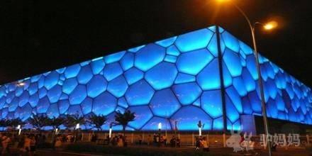 水立方是目前世界上最大的膜结构建筑,世界上首次在公共建筑领域成功