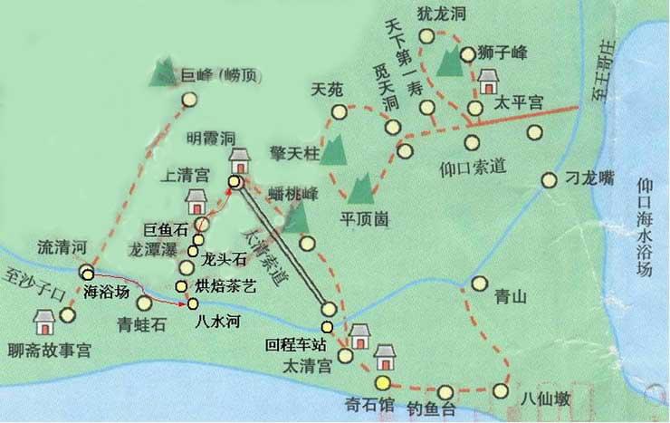 青岛地图图片_青岛地图
