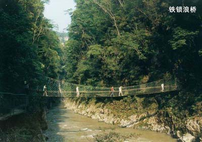 南江大峡谷观光旅游地图