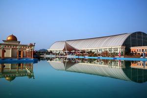 【遂宁死海,让您的假期惊喜不断】住1晚死海太阳城度假酒店+死海景区门票2张