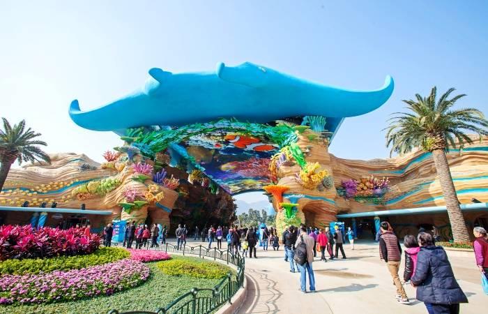2014第十届中国珠海航展门票 珠海长隆海洋王国或国际马戏城二等票图片