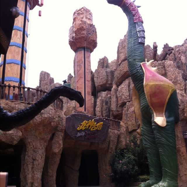 常州中华恐龙园常州中华恐龙园很好玩 不过水世界太坑了,小而 驴妈