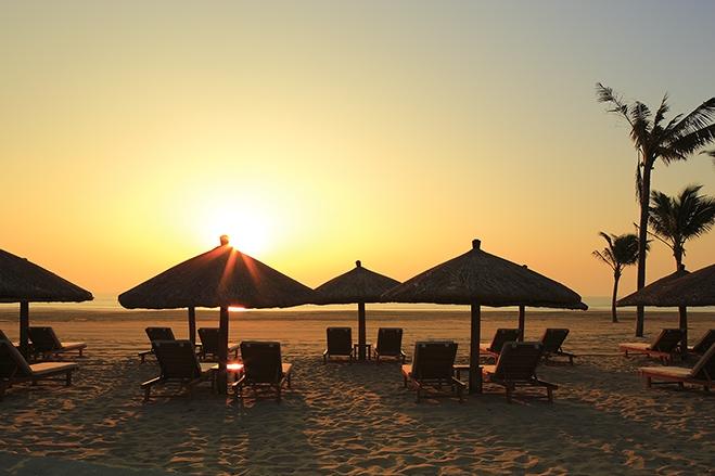 海棠湾天房洲际度假酒店 酒店私家沙滩