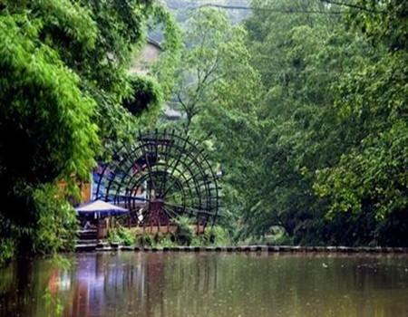 含熊猫基地 野生动物园 红色上里古镇2日游 -2天1晚跟团游,成都到高清图片