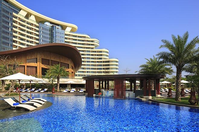 海棠湾天房洲际酒店     外观图