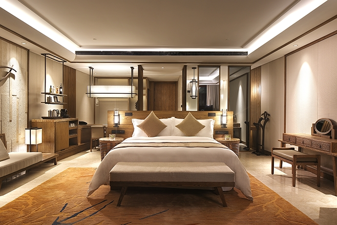 海棠湾天房洲际酒店  房间设施