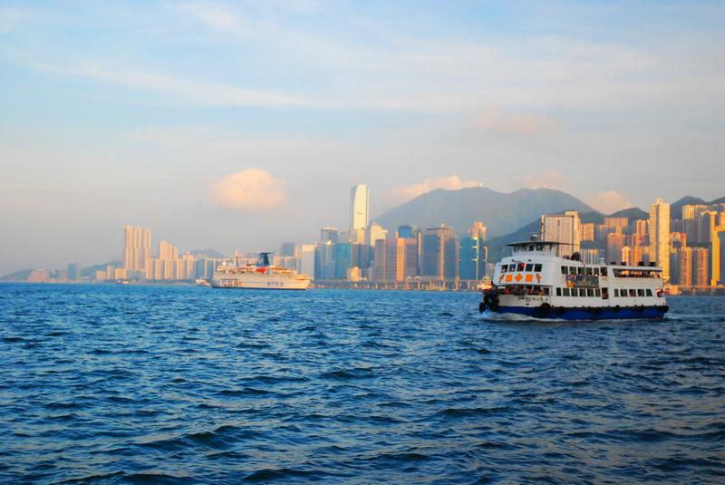 香港-维多利亚港-天星小轮@无梦到徽州