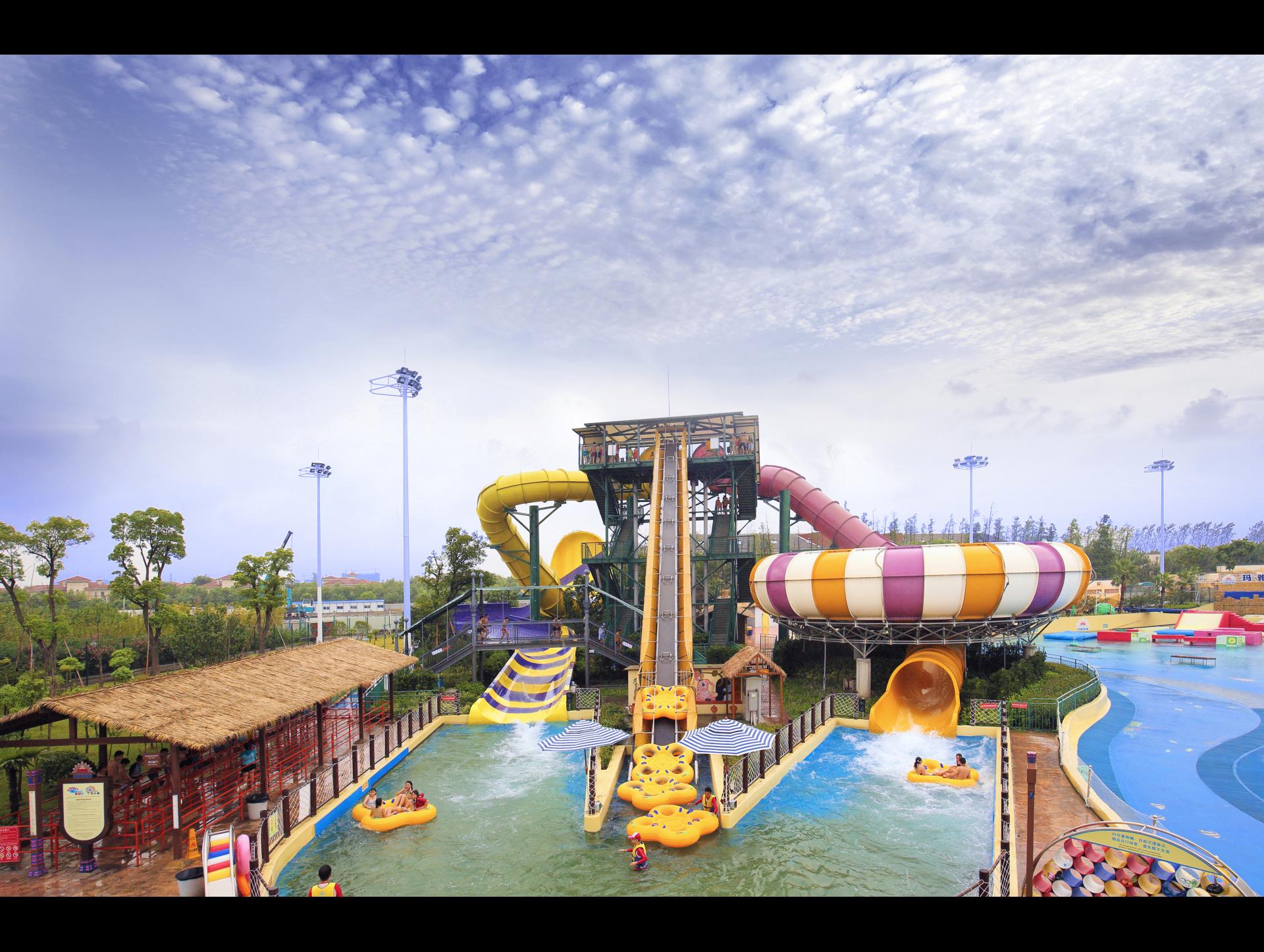 上海玛雅水上乐园游玩攻略 高清图片