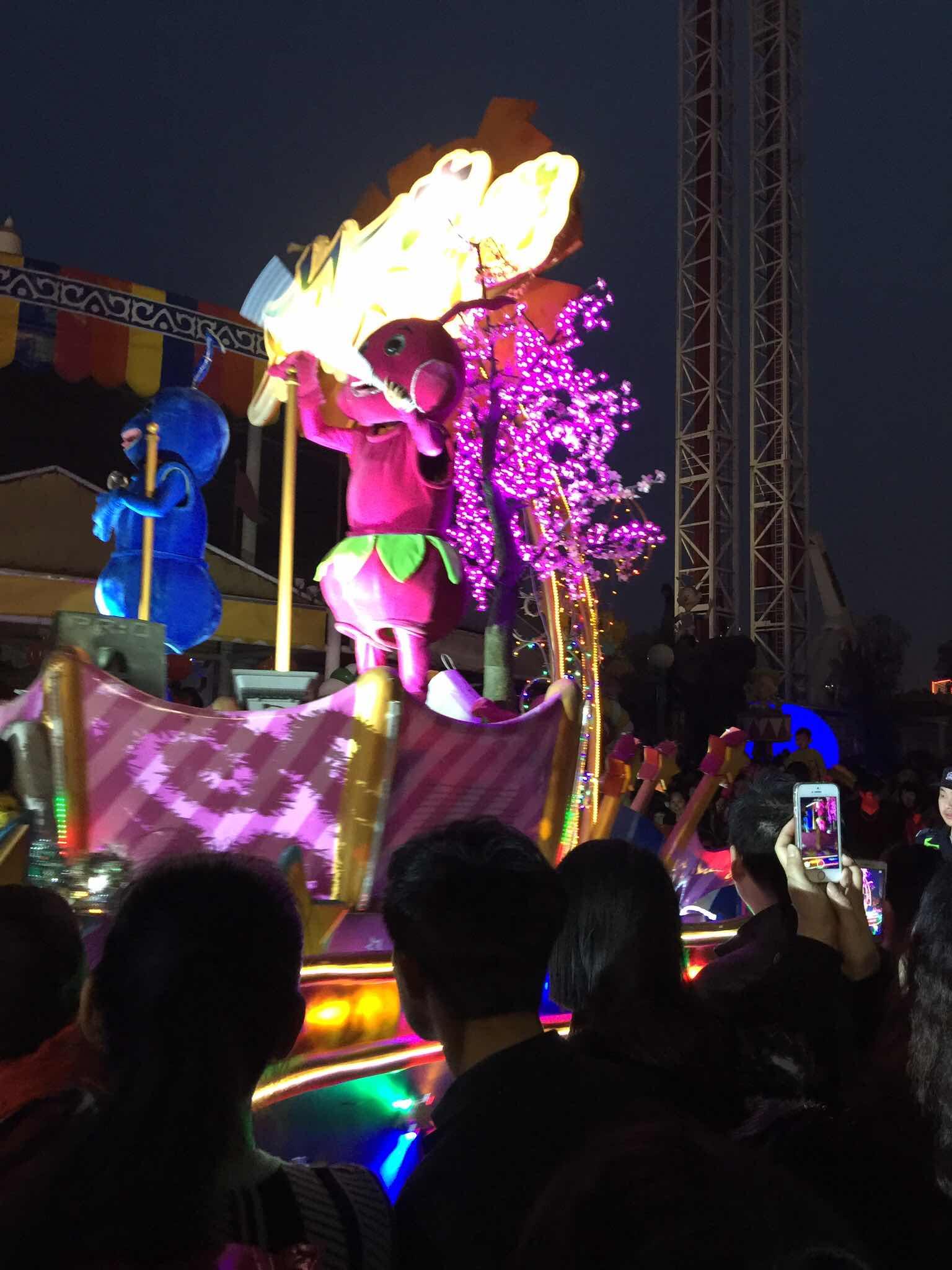2015年武汉成人展_武汉欢乐谷   奇幻灯光节 夜场成人票(限3月5日游玩)【1元秒杀·门票