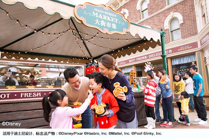 香港-户外小吃亭-迪士尼光影汇©香港迪士尼乐园