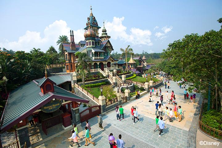 香港-香港迪士尼乐园-迷离庄园©香港迪士尼乐园