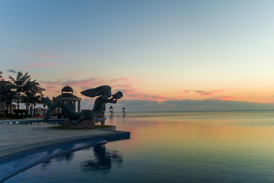 天1晚自由行住恒大海上威尼斯酒店园景套房/海景套房1晚&quot碧海银沙&quot