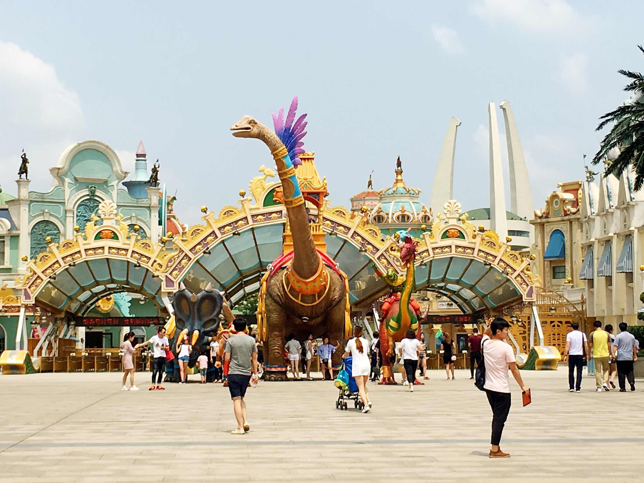 常州恐龙园介绍