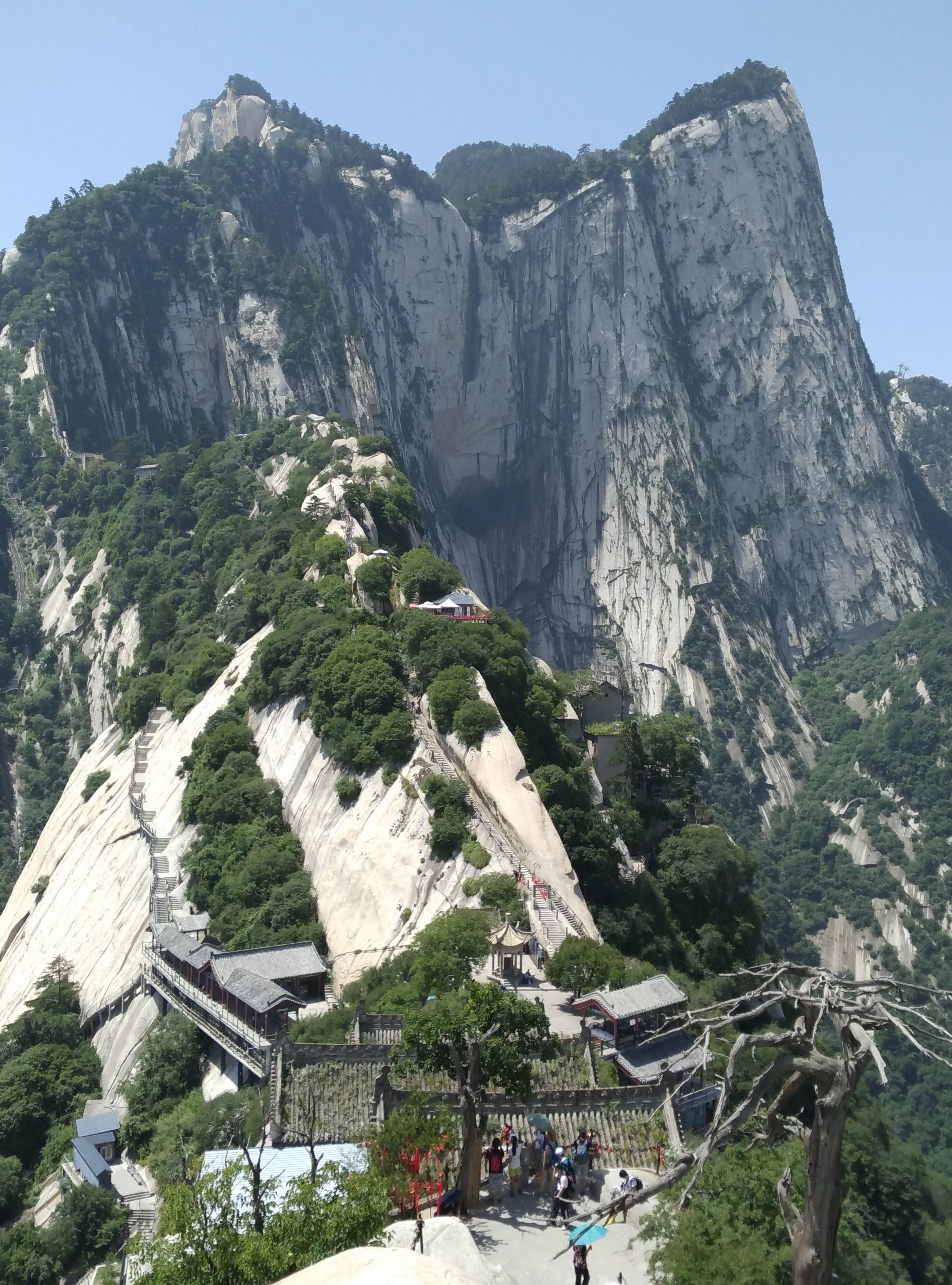 陕西景点门票 渭南景点门票 华山风景名胜区        我们选择北峰上