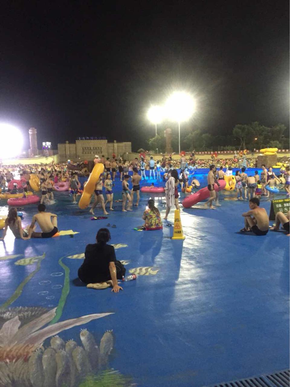 上海玛雅海滩水公园   上海玛雅海滩水公园(夜场票) - 成人票图片