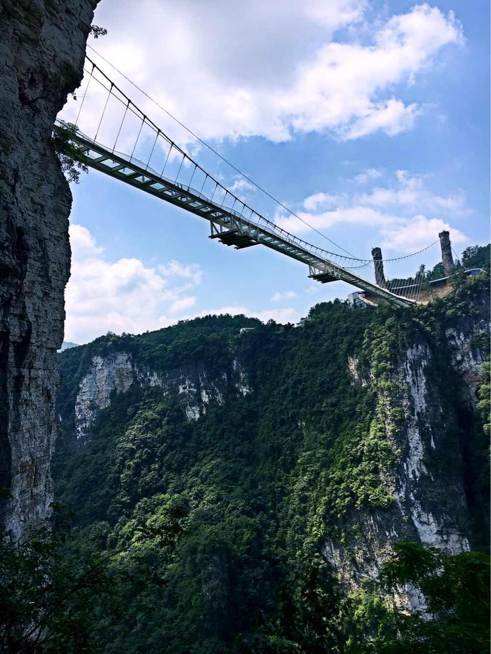 张家界大峡谷玻璃桥可以带手机和相机吗图片