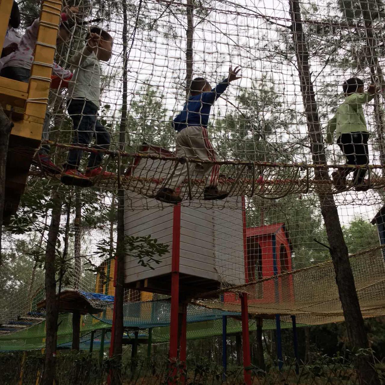 成都松鼠部落森林假日公园   家庭票(2大1小)图片