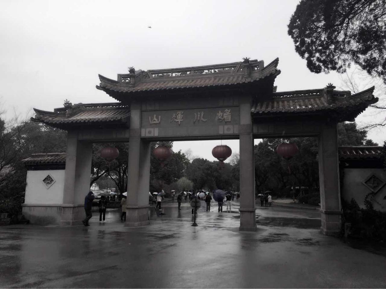灵山大佛旅游导游图