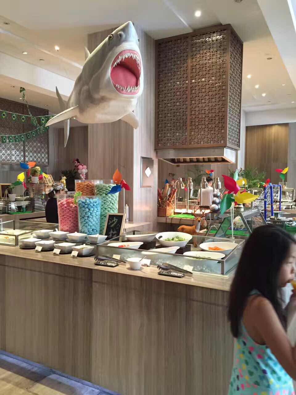 【油桃亲子】住苏州黄金海螺大酒店1晚+双早吃完水岸能吃时光吗图片