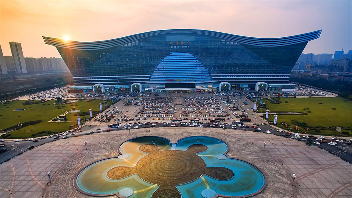 成都环球中心天堂洲际大饭店_成都环球中心攻略图片