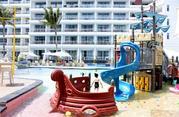三亚双飞5日4晚自由行(三亚华宇亚龙湾迎宾馆,孩子们的乐园酒店,独具特色的海洋餐厅,七色幻彩泳池,儿童电子水族馆,含接机)