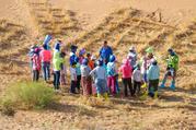 【大漠星途】宁夏腾格里沙漠亲子观星双飞6日5晚深度游([暑期热卖] 沙漠露营,仰望星空,沙漠徒步,电影拍摄,环保治沙,能源认知,古村探索,专业服务团队,保障精彩旅行)