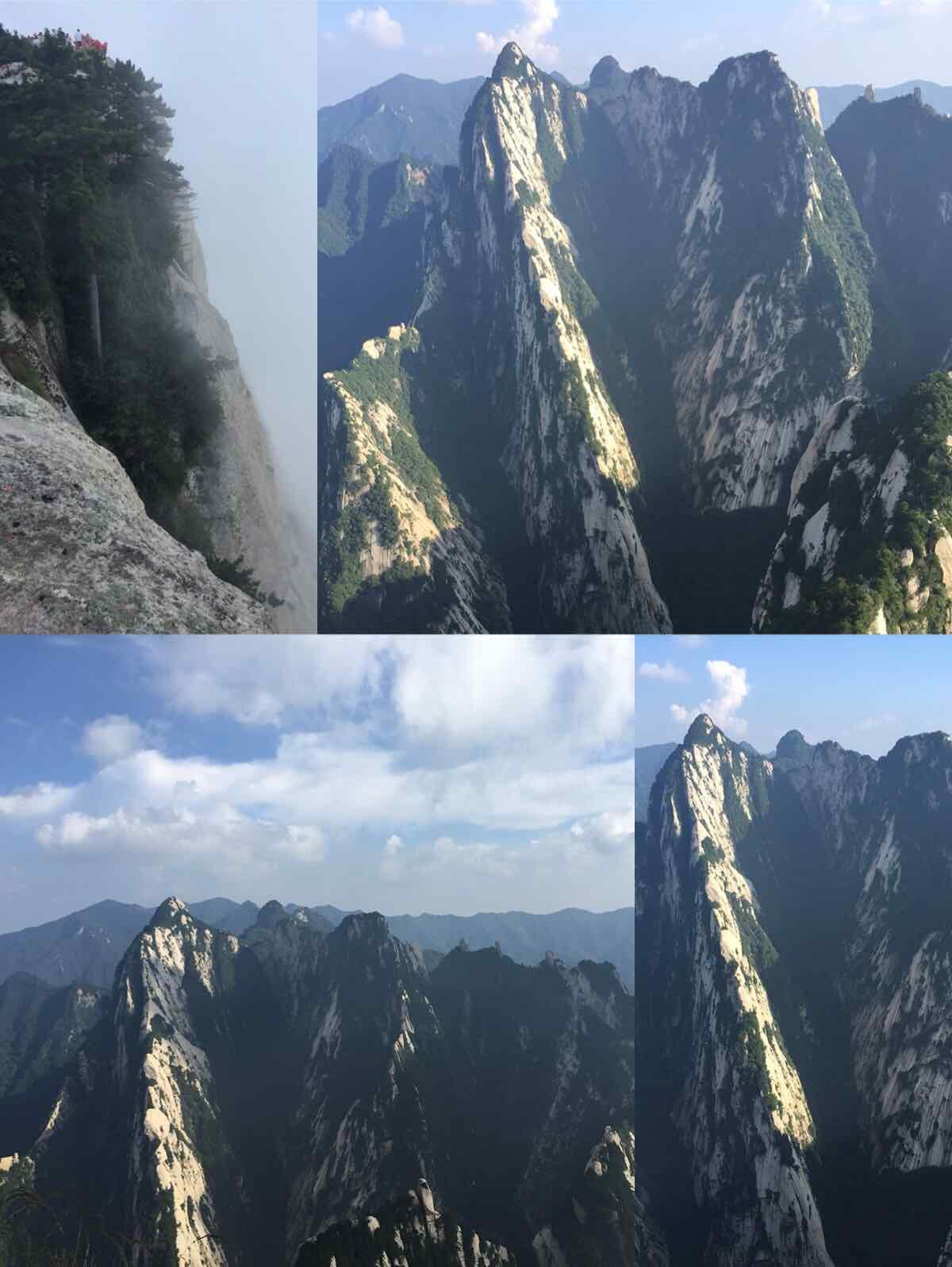 西安华山西上北下索道往返巴士1日当地游(赠送登山手套,体验华山奇险)图片