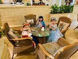 杭州3天2晚杭州第一世界大酒店+2大1小浪浪浪或烂苹果或杭州乐园(3选1)+云曼冷泉+早餐(2天)+晚餐(1餐)