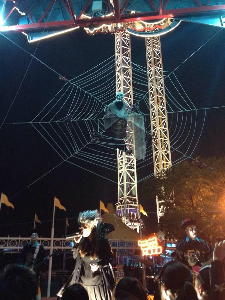 【2016上海欢乐谷夜场万圣节,攻略】