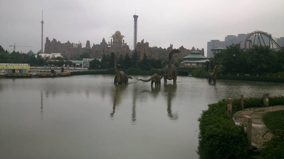 常州中华恐龙园常州中华恐龙园以前去过苏州乐园的欢乐世界和水 驴妈